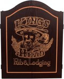 Dart kabinet Kings Head Black&Gold _
