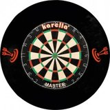 Dartboard Surround zwart 4 delig_