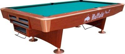 Buffalo pooltafel type Pro-II Pool Table 9 ft bruin