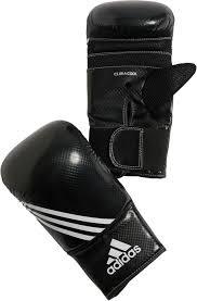 Adidas Bokshandschoen 12 fit Wit/zwart