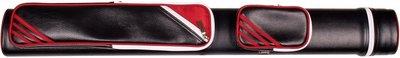 Keukoker Label 9 Retro zwart/rood 2 om 2 (2 Butts / 2 Shafts)