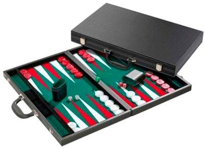 Backgammon deluxe, ingelegd