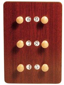 Scorebord Carambole X3, 24 x 35 cm