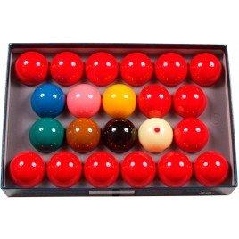 Snooker ballenset Aramith Tournament 52,4 mm