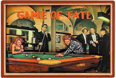 3D SCHILDERIJ GAME OF FATE 41 X 59 CM