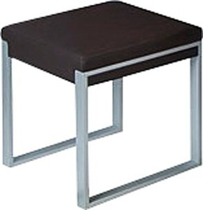 Fusion stool 4 poots wit of zwart