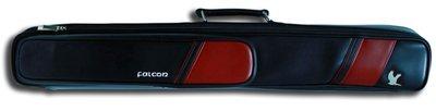 Falcon soft bag 2B/4S rood-zwart (2 Butts / 4 Shafts)