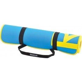Yoga mat Reebok Color Line, cyaan