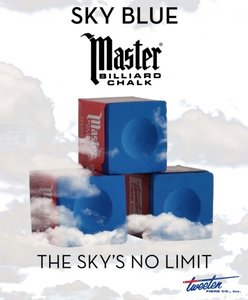 Master Sky Blue doosje 12 krijtjes