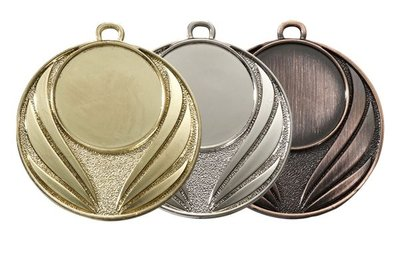Medaille Goud, Zilver en Brons E216