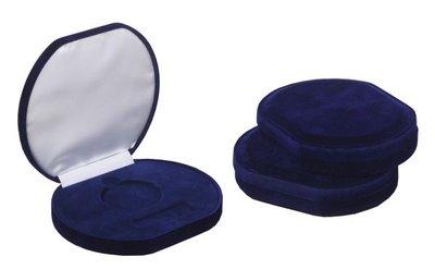 Medailledoosje de luxe Blauw 70mm