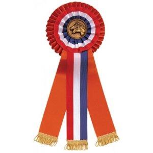 Kampioensrozet sticker of paardenhoofd diverse kleuren