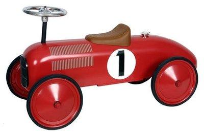 Simply for kids Metalen rood racewagen