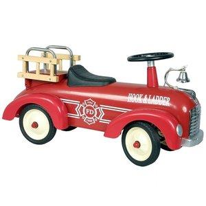 Simply for kids metalen brandweerwagen
